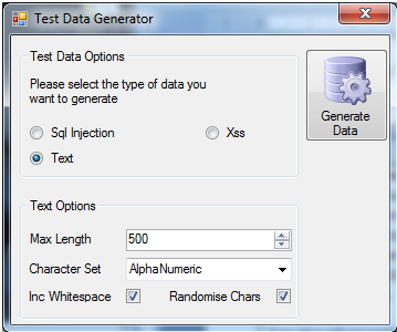 "Test Data Generator"" tool is now available! – Dan Ashby"